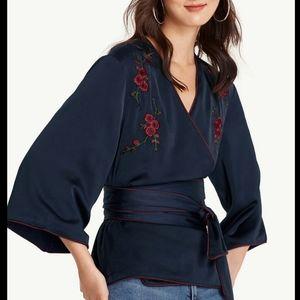 Pomelo Sawako Kimono Top Sz M